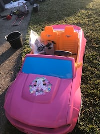 Barbie Car, battery operated