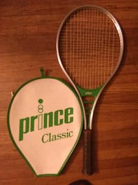 gray and black Price tennis racket with case Cincinnati, 45237