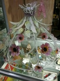 white and pink floral hanging light  Innisfil, L9S 3V9