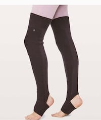 New with tags lululemon leg warmers ~ retail $68+