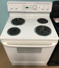 GE electric stove 90 days warranty Reisterstown, 21136