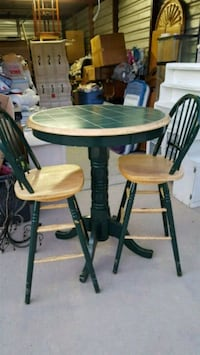 Tall Table & 2 chairs. 2287 mi