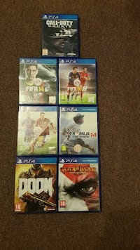 sony ps4 game lot Manchester, M25 0GH