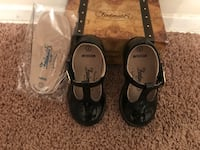 Toddler Girls black patent leather dress shoes Size 7 Baltimore