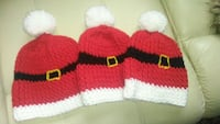 red and white knit cap Edmonton, T5Z 3H7
