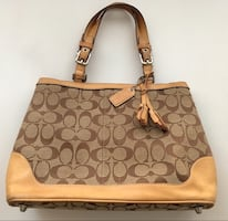 Coach Bag from Classic Collection with Original Gift Box