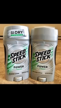 (2) Speed Stick Deodorant