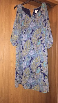 purple and white floral scoop-neck dress Ocean Springs, 39564