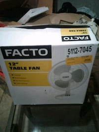 Brand new never been used fan in box Edmonton, T5T 4K7