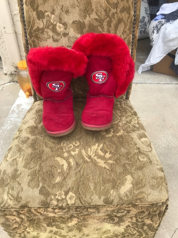 Plush UGG style boots , clean rarely worn 519c42f6-9c80-41ff-a5ea-7c043d3aa750