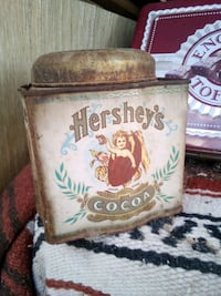 Hershey's Tin Can Coco,  vintage antique