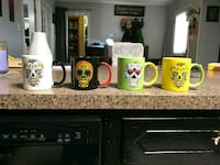 Day of the Dead Mug Set Springfield, 70462