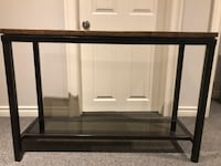 Pier 1 console table with matching side table Barrie