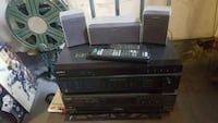Sterio set with speakers  Mississauga, L5N