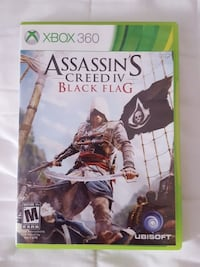 Assassin's Creed IV Black Flag Xbox 360 game case Fayette, 43521