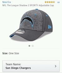NFL Chargers Hat  Fresno