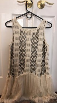free people festive dress xs