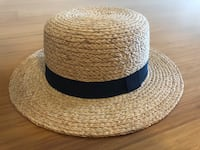 Raffia Boater Hat Los Angeles, 90015