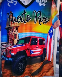 Jeep jerseys Puerto Rico flag Clearwater