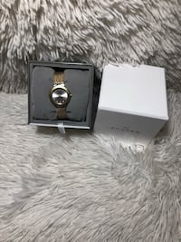 silver and black ring with box Weston, 02493