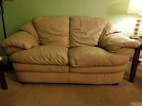 Authentic leather couch and loveseat Fredericksburg, 22407