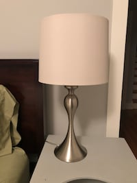 Set of 2 silver table lamps  Annapolis, 21401