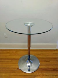 Adjustable Glass Table  541 km