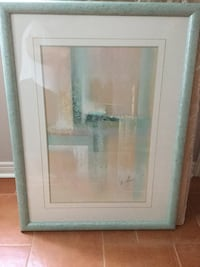 Light green frame glass panel picture  Vaughan, L6A 2V7