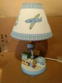 white and blue kids table lamp Frontenac, 63131