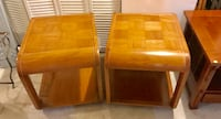 Pair of midcentury night stands end tables Kensington, 20895