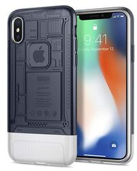 iPhone X Case, Spigen Classic C1 [10th Anniversary Limited Edition] Air Cushion Technology for Apple iPhone X (2017) - Graphite Toronto, M5A 1E8