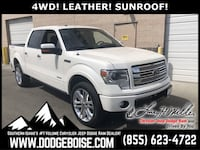 2014 Ford F-150 SuperCrew Cab Limited 4WD LEATHER! SUNROOF! Boise