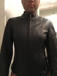 Danier Leather Jacket 100% Leather BLACK Toronto, M1B 2S7