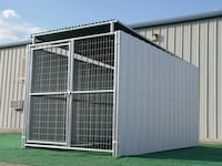Metal Kennel Shed