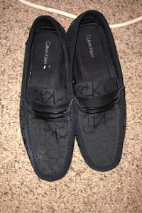 Black men's Calvin Klein dress shoes size 12 loafers (sz 12) Indian Head, 20640