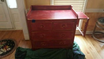 Solid wood 4 chest of drawers