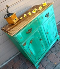 Farmhouse Buffet Cabinet or Coffee Bar 836 mi