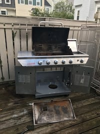 Gray and black gas grill Herndon, 20191