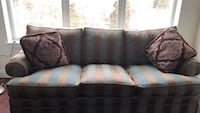 brown and white plaid sofa Fort Belvoir, 22309