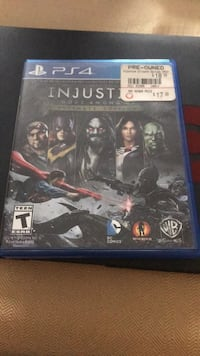 Sony PS4 Injustice 2 game case Grand Rapids, 49544