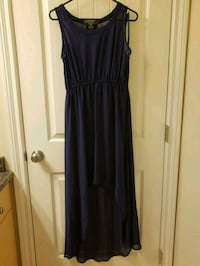 Navy High Low Dress Size M Vancouver, V6B 6N8