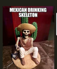 Mexican drinking skeleton Bethpage