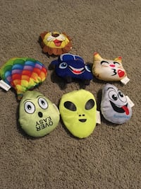 Collection of plush toys Calgary, T3M 0W4