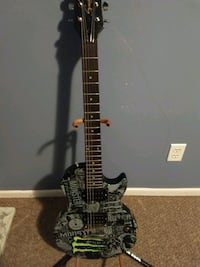 black and brown electric guitar Akron, 44314