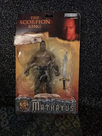 The scorpion King action figure