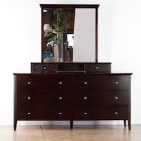 Wooden Dresser With Mirror (1016542) South San Francisco
