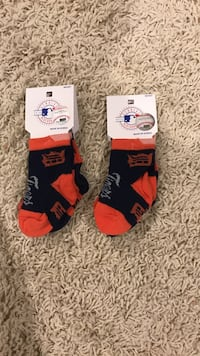 Detroit tigers infant socks 404 mi