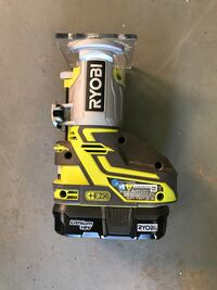 Ryobi 18v router with battery and charger  Powder Springs, 30127