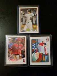 Mint Trout/Yelich Lot - Free Shipping  Toronto, M6C 2L3