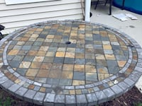 Outdoor table, tile. Heavy! Pick up only. Also have Two metal chairs for sale if interested Wilmington, 28409
